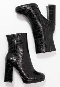 BEBO - ARTHUR - High heeled ankle boots - black - 3