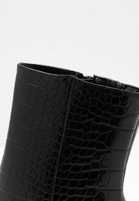 BEBO - ARTHUR - High heeled ankle boots - black - 2