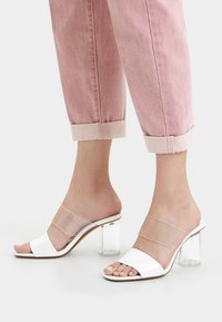 Bershka - Sandals - white - 0