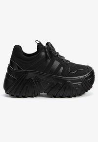 Bershka - Trainers - black - 6