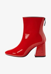 Bershka - Classic ankle boots - red - 1