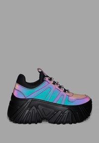 Bershka - Sneakersy niskie - black - 6