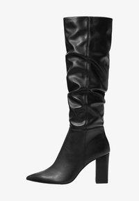 Bershka - Laarzen met hoge hak - black - 1