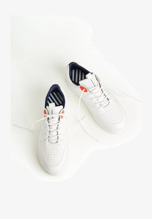 MIT FARBELEMENT - Sneaker low - white