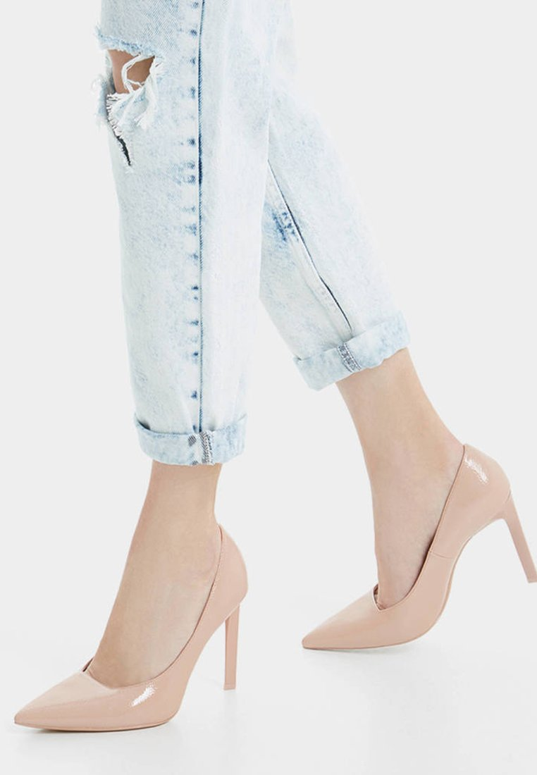 Bershka - High Heel Pumps - nude