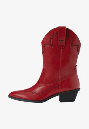 Cowboy-/Bikerlaarsjes - red