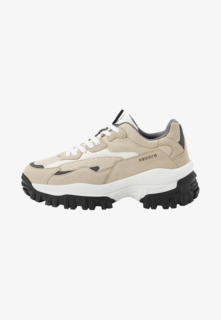 Bershka - Sneakers laag - beige
