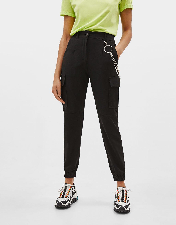 zalando spodnie damskie czarne