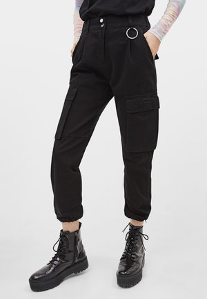 CARGOPANTS - Broek - black