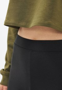 Bershka - Leggings - Trousers - black - 3