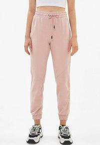 Bershka - Pantalon de survêtement - rose - 0