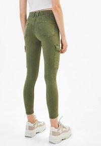 Bershka - Jeans Skinny - khaki - 2