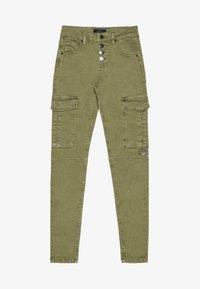 Bershka - Jeans Skinny - khaki - 5