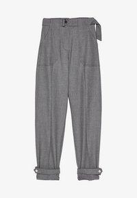 Bershka - MIT GÜRTEL  - Pantaloni - grey - 5
