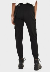 Bershka - Cargobroek - black - 2