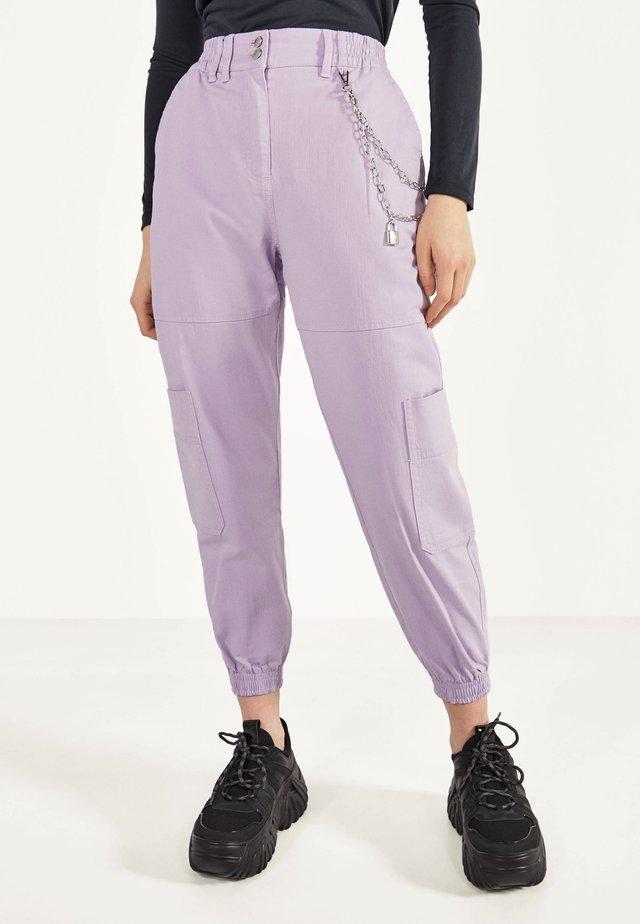 Spodnie treningowe - mauve