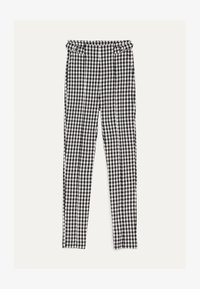 Bershka - MIT SCHNALLEN - Leggings - Trousers - grey - 5