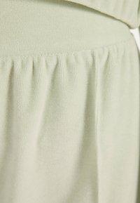 Bershka - Pantalon classique - turquoise - 4