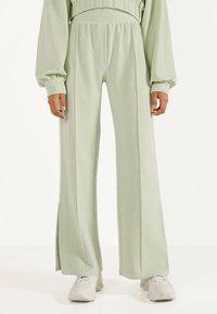 Bershka - Pantalon classique - turquoise - 0
