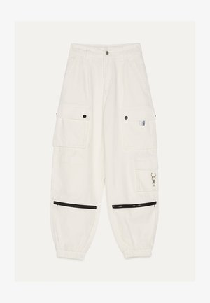 Cargo trousers - white