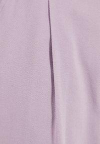 Bershka - Pantalon classique - mauve - 4