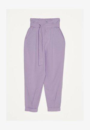 Pantalon classique - mauve