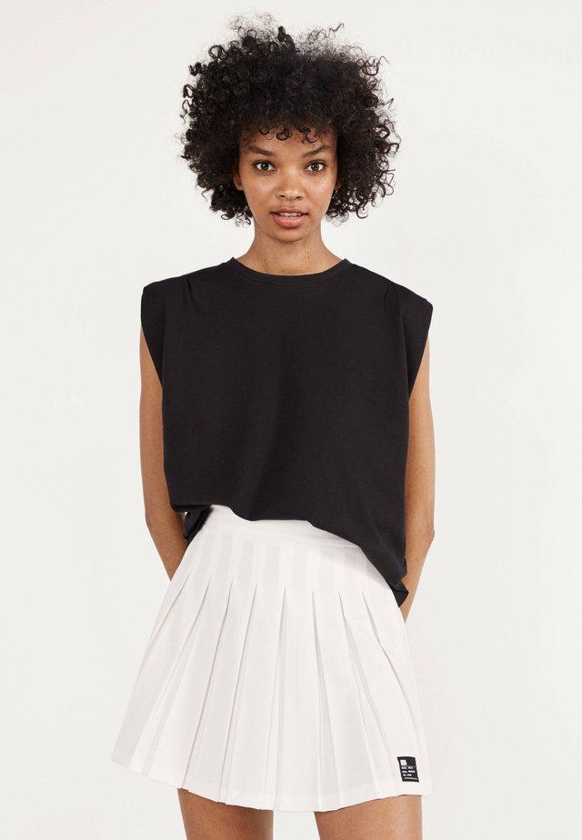 Spódnica plisowana - white