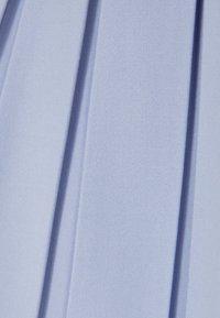 Bershka - Plisovaná sukně - light blue - 5