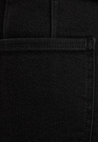 Bershka - KURZER DENIM-ROCK 00644534 - A-line skirt - black - 5