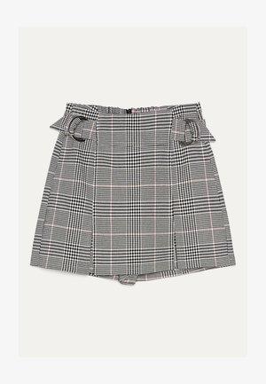 MIT SCHNALLEN  - Shorts - light grey