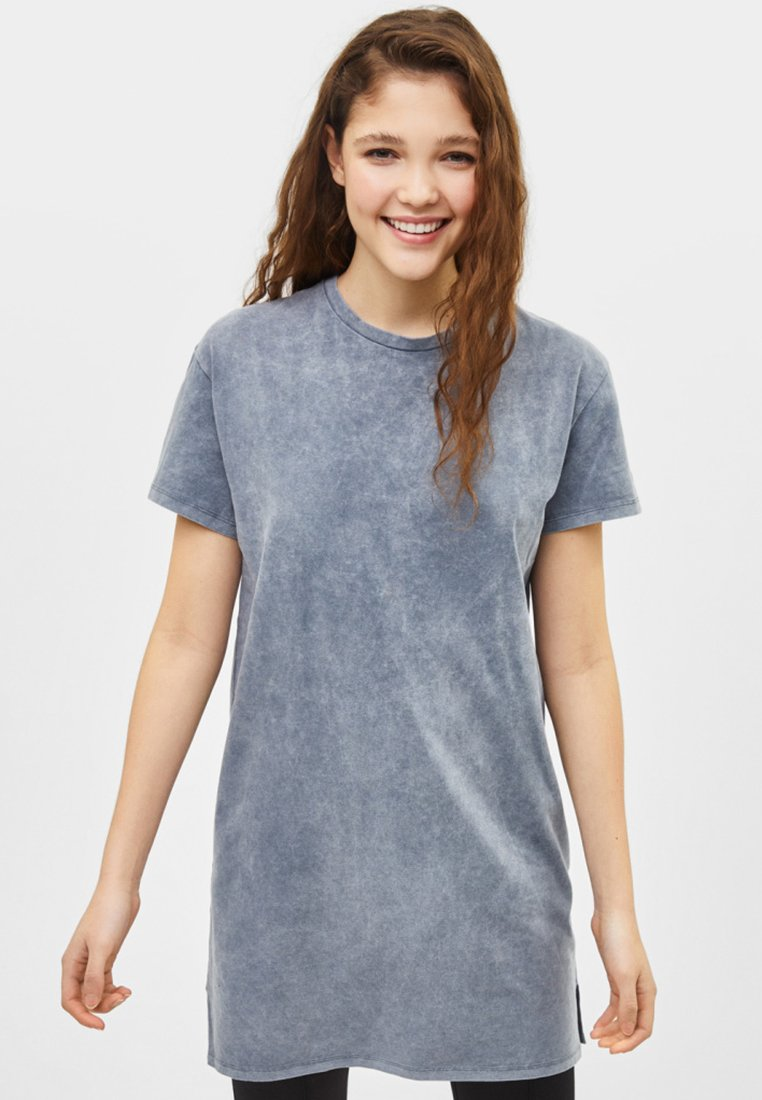 Bershka - Jerseykleid - gray