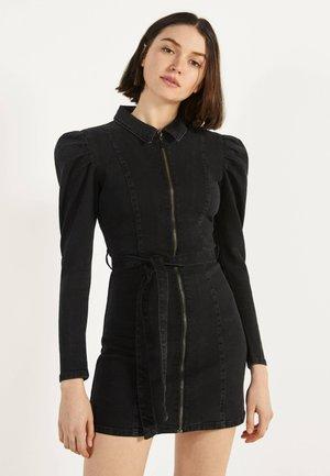 00432335 - Vestito di jeans - black