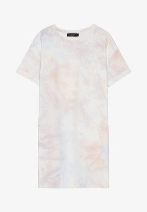 IM ACID-WASH-LOOK - Korte jurk - pink