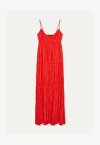 Bershka - MIT TRÄGERN - Maxi dress - red - 4
