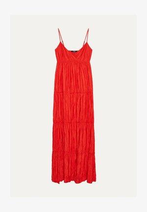 MIT TRÄGERN - Robe longue - red