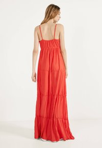 Bershka - MIT TRÄGERN - Maxi dress - red - 1