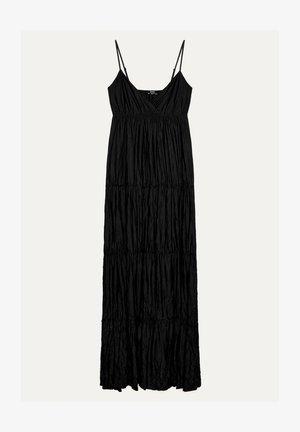 MIT TRÄGERN - Maxi šaty - black