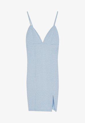 MIT VICHYKAROS  - Denní šaty - light blue
