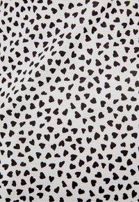 Bershka - MIT PRINT UND VOLANTS - Korte jurk - white - 5