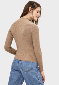 Bershka - Sweter - beige - 2