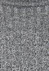 Bershka - MIT GERIPPTEM STEHKRAGEN - Strikpullover /Striktrøjer - grey
