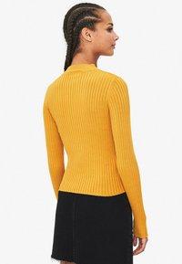 Bershka - Sweter - mustard yellow - 2