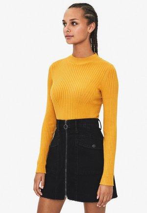Sweter - mustard yellow