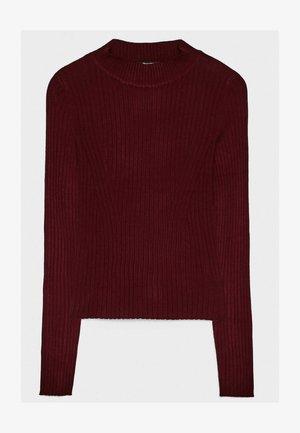 Pullover - bordeaux