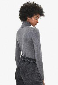 Bershka - Sweter - grey - 2