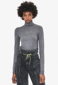 Bershka - Sweter - grey - 0
