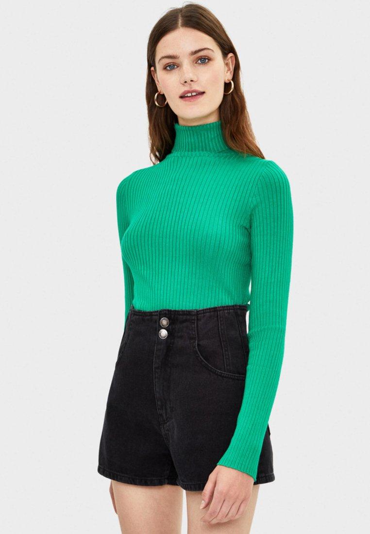Bershka - Pullover - green