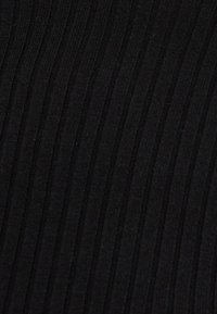 Bershka - Stickad tröja - black - 4