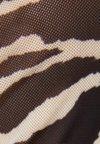 Bershka - Long sleeved top - beige/brown