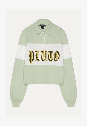 POLOSHIRT MIT PLUTO-PRINT 02213033 - Polo shirt - green